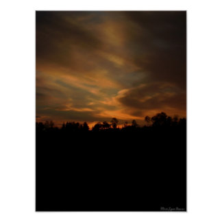 Wisconsin Sunset Poster