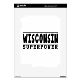 Wisconsin Superpower Designs Skins For The iPad 2