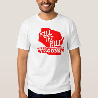Wisconsin Support Workers T-shirt