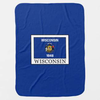 Wisconsin Swaddle Blanket