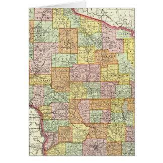 Wisconsin Tarjeta