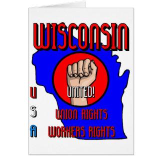 Wisconsin Tarjeta De Felicitación