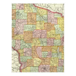 Wisconsin Tarjeta Postal
