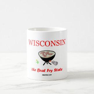Wisconsin - The Brat Fry State coffee mug