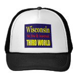 Wisconsin the New & Improved THIRD WORLD Hats