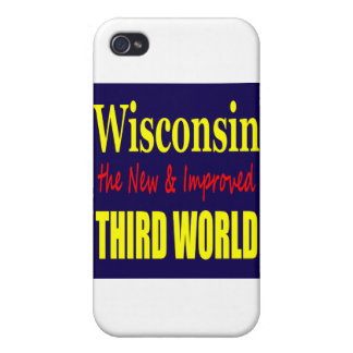 Wisconsin the New & Improved THIRD WORLD iPhone 4 Covers
