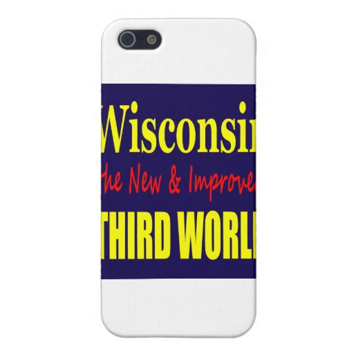 Wisconsin the New & Improved THIRD WORLD iPhone 5 Cover