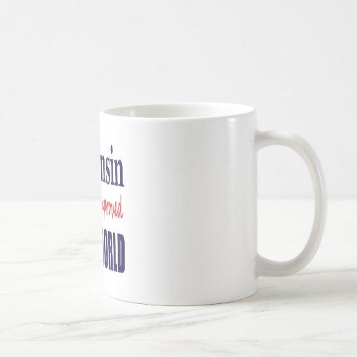 Wisconsin the New & Improved THIRD WORLD Mug