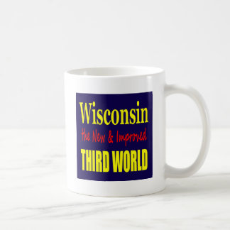 Wisconsin the New & Improved THIRD WORLD Mugs