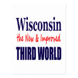 Wisconsin the New & Improved THIRD WORLD Postcards