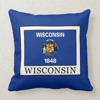 Wisconsin Throw Pillow