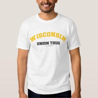 Wisconsin Thug Gold Econoline T-shirts