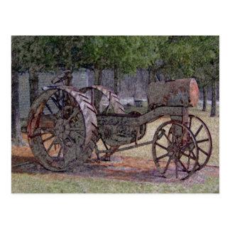 Wisconsin Tractor Postcard