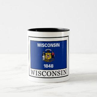 Wisconsin Two-Tone Coffee Mug