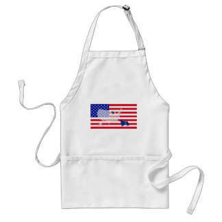 Wisconsin, USA Adult Apron