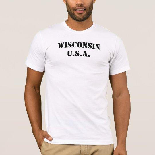 Wisconsin USA T-Shirt
