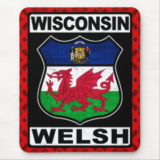 Wisconsin Welsh Americah Mouse Pad