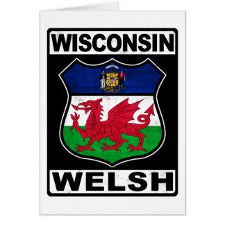 Wisconsin Welsh American Card