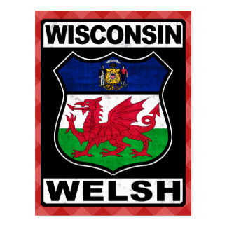 Wisconsin Welsh American Post Cards