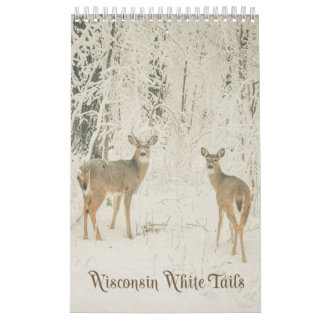 Wisconsin White Tails Calendar