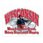 Wisconsin Whitewater Tarjeta Postal