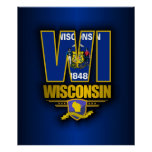 Wisconsin (WI) Poster