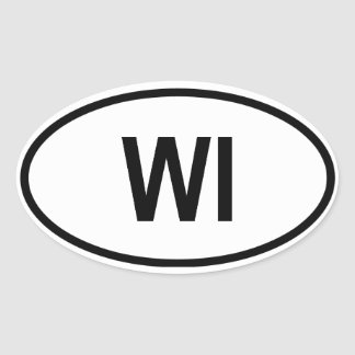 Wisconsin WI Sticker