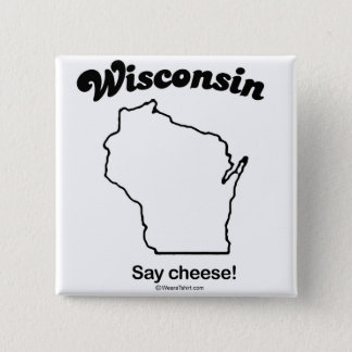 "WISCONSIN ""WISCONSIN STATE MOTTO"" T-shirts and Gea Button"