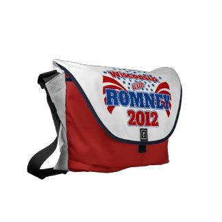 Wisconsin with Romney 2012 Commuter Bags
