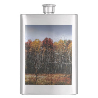 Wisconsin Woods in The Fall Flask