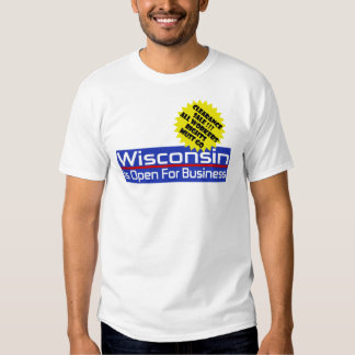 Wisconsin Workers' Rights Clearance Sale T-Shirt