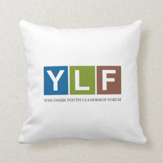 Wisconsin YLF Throw Pillow