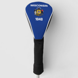 Wisconsinite flag, American state flag Golf Head Cover