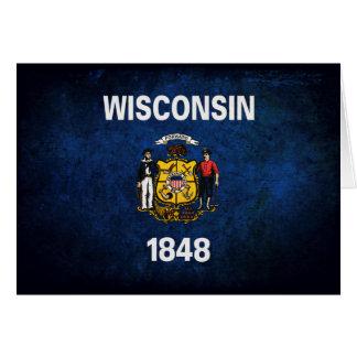 Wisconsinite Flag Card