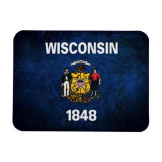 Wisconsinite Flag Magnet