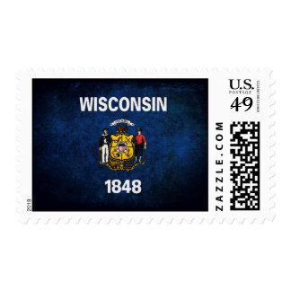 Wisconsinite Flag Postage