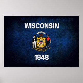 Wisconsinite Flag Poster