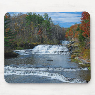 Wiscoy Creek Falls Mousepad
