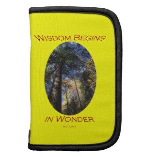 wisdom begins in wonder organizers