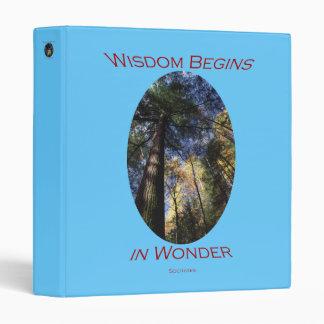 wisdom binder