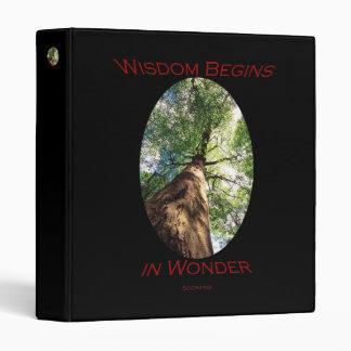 wisdom 3 ring binders
