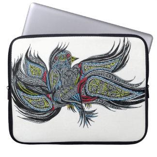 Wisdom Bird Laptop Sleeves