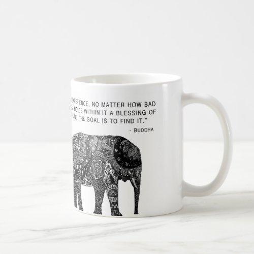 Wisdom Buddha Elephant Mug