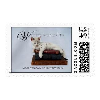 Wisdom (cat) Stamps