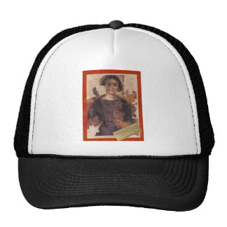 wisdom, collage mesh hats