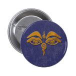 wisdom eyes - gold pins