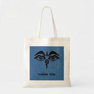 wisdom eyes tote bag