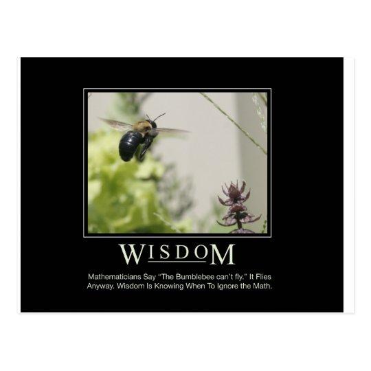 Wisdom_Garden Series Postcard