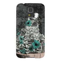 Wisdom in nature floral owl galaxy s5 case