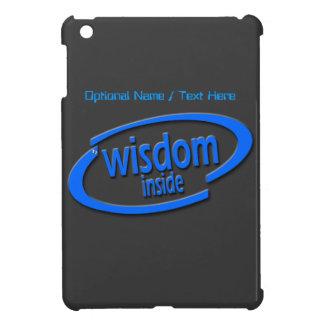 Wisdom Inside - Funny Intel Parody iPad Mini Case